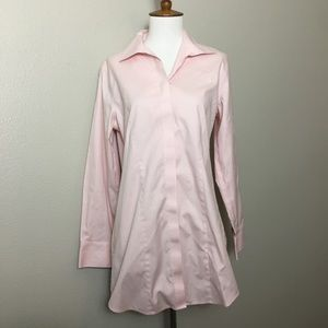 CHICOS Pink Button-Up
